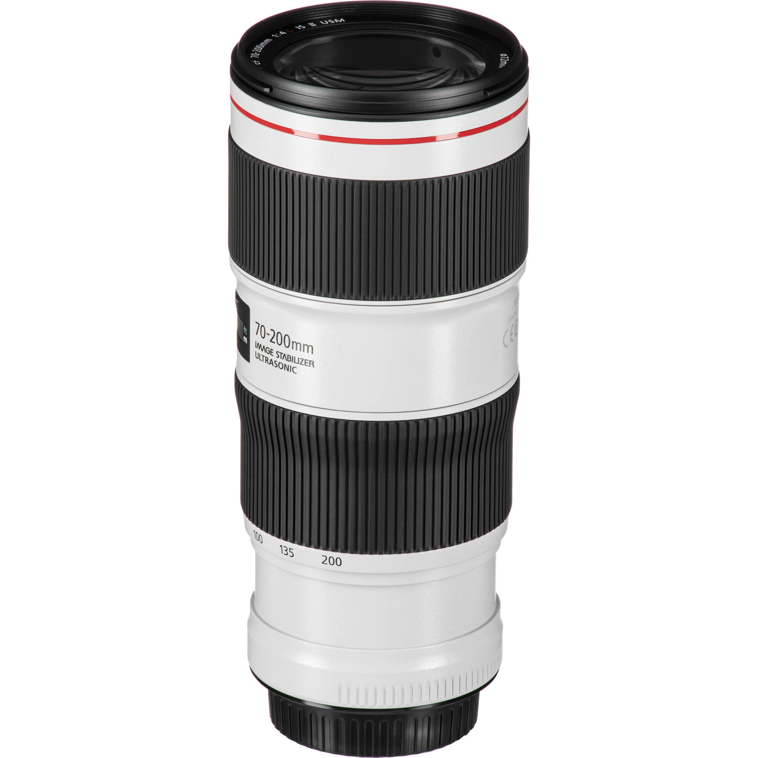 Canon EF 70-200mm f/4L IS II USM Lens 2309C002 B&H Photo Video