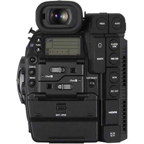 Canon Cinema EOS C300 Mark II Camcorder Body with Dual Pixel CMOS AF (EF Lens Mount)