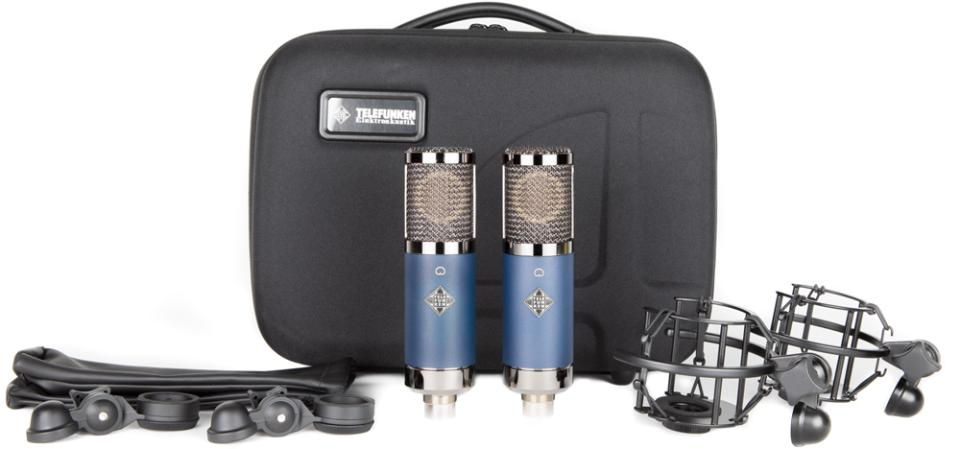Telefunken TF11 FET Large-Diaphragm Condenser (Matched Stereo Pair)