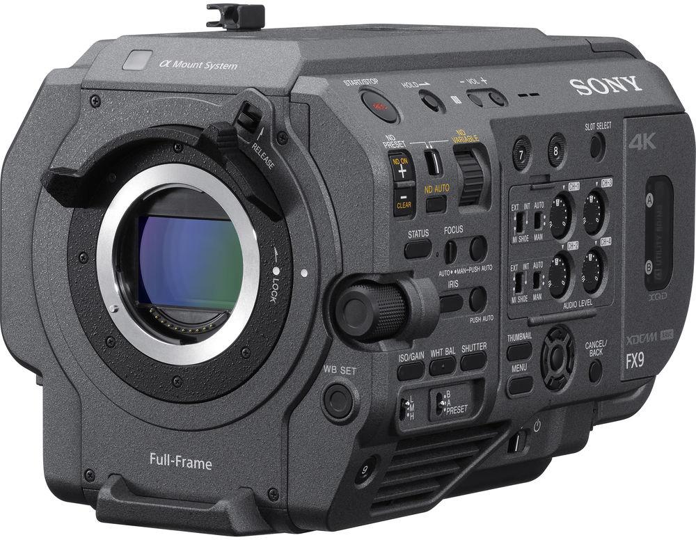 Sony PXW-FX9 XDCAM 6K Full-Frame Camera System