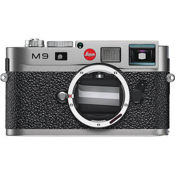Leica M9 Rangefinder Digital Camera Body (Steel Grey)