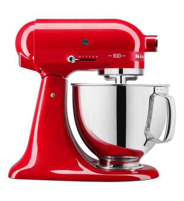 rouge passion 100 ans kitchenaid rouge