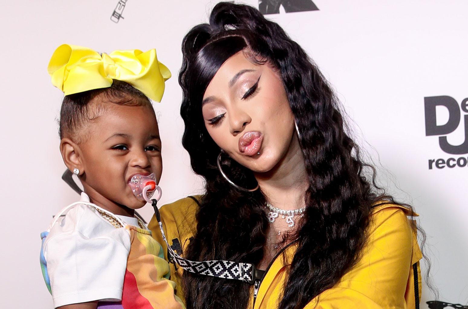 cardi b offset s 2 year old daughter
