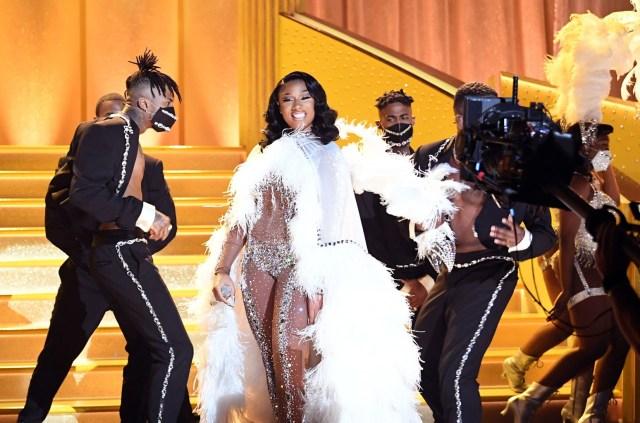 Megan Thee Stallion Performed 'Savage' at the 2021 Grammy Awards | Billboard