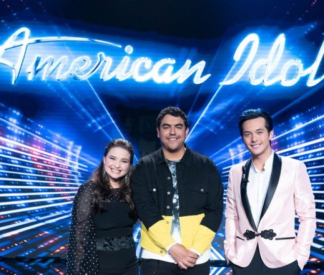 American Idol Final Three Talk Most Memorable Season  Moments