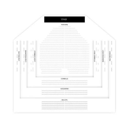 De Joe Cirque Chart Seating Arena Soleil Louis