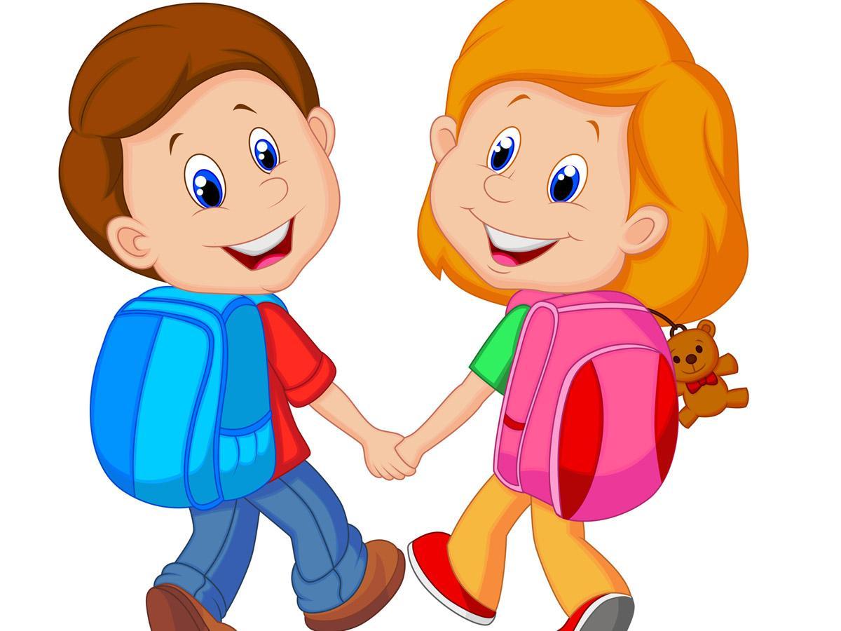 Sempre Di Più I Bambini Che Vanno A Scuola A Piedi Bimbi