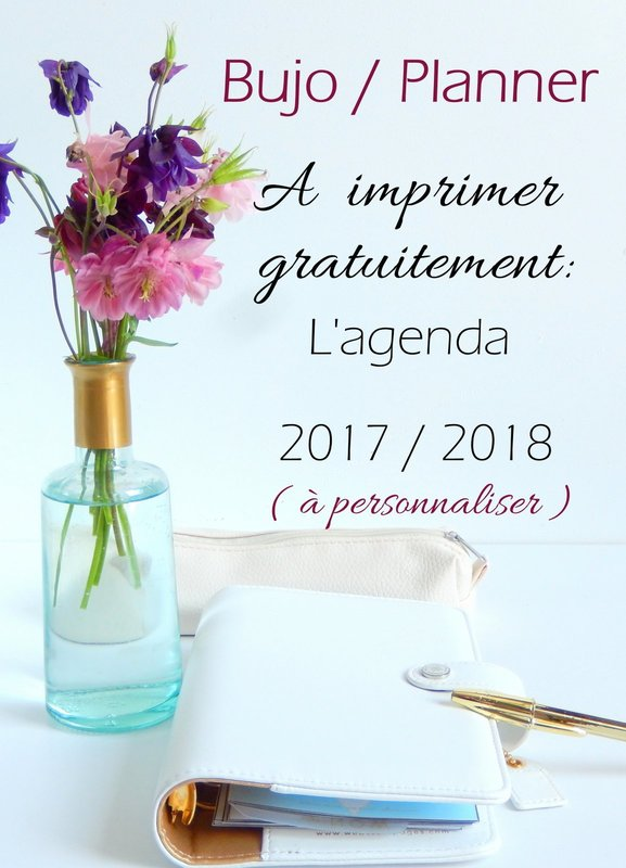Mi Bullet Journal Mi Planner Lagenda 2017 2018