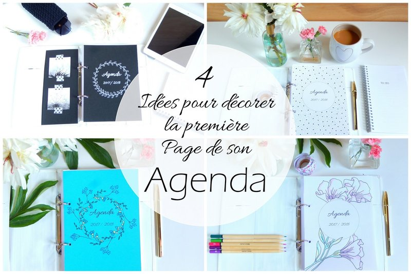 idees pour decorer son bullet journal ou planner
