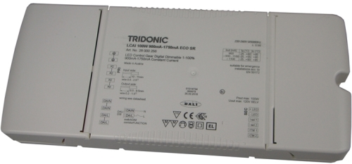Tridonic 100w Dali Dimmable LED Driver (For LED Panels