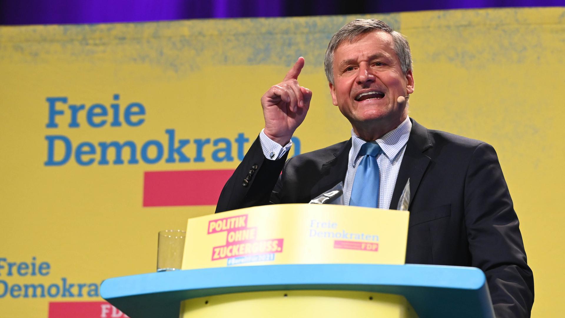 Baden-Württemberg: FDP-Spitzenkandidat Rülke macht Wasserstoff zur Bedingung