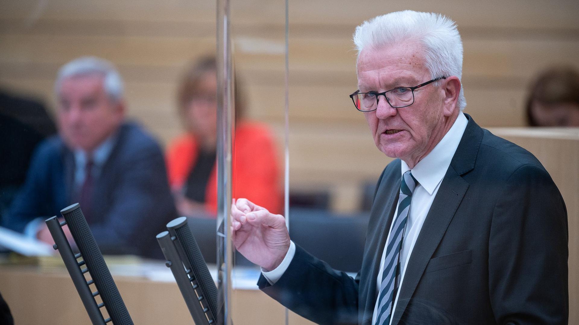 kretschmann will strengere corona