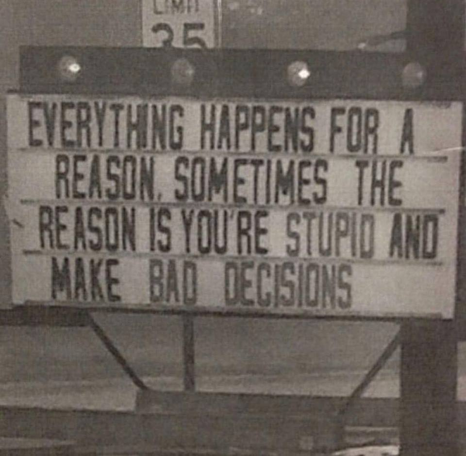 malas decisiones