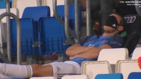 Tiền đạo Gareth Bale khiến NHM Real Madrid tức giận