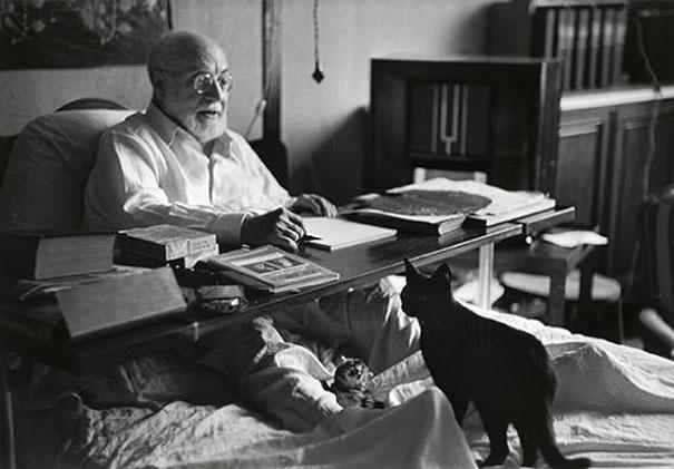 Henri Matisse, Minouche and Coussi
