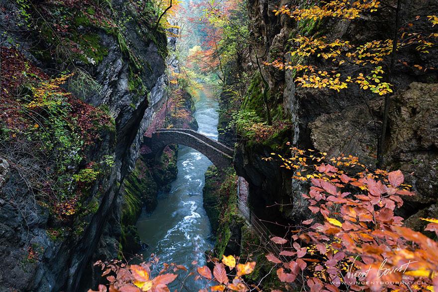 Gorge De L'areuse, Switzerland