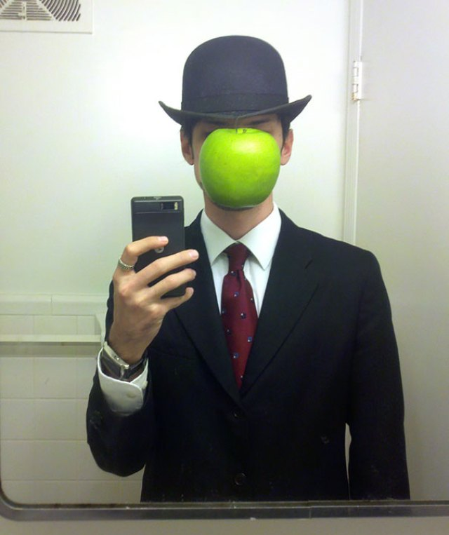 Magritte's The Son Of Man Costume