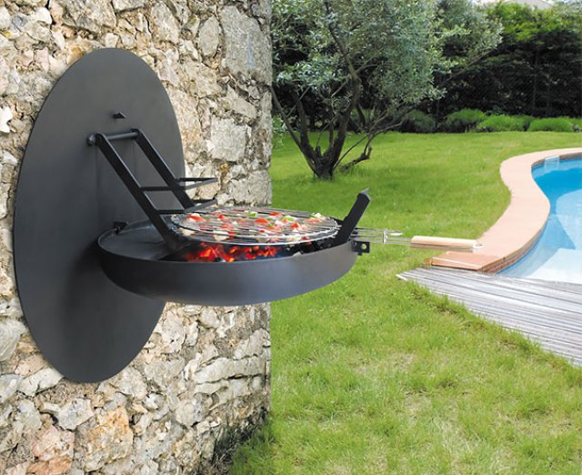 Open-and-close Barbecue