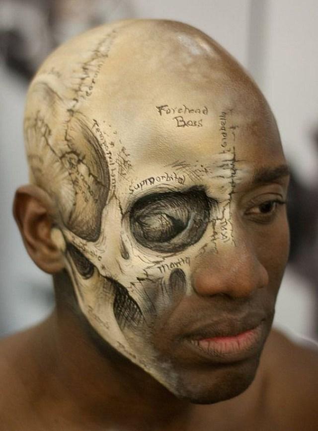 Exposed Skull