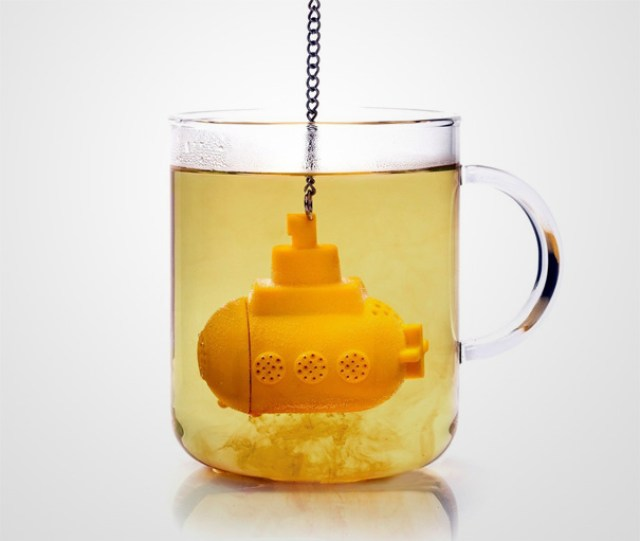 Tea Sub – Yellow Submarine Tea Infuser