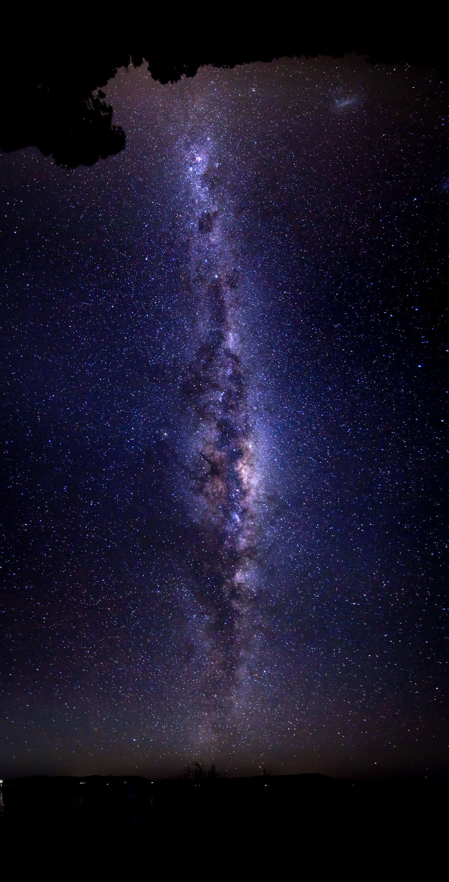 The Eye Of The Universe (180 Degree Panorama Over Australia)