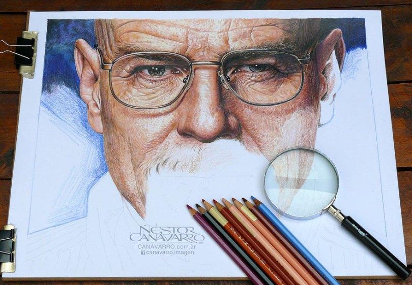 retratos realistas-desenhos-a-lápis-de-cor-nestor-canavarro-2