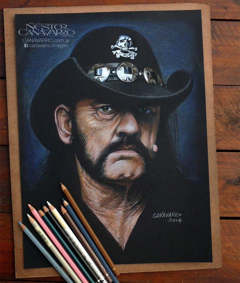 retratos realistas-desenhos-lápis-de-cor-nestor-canavarro-6