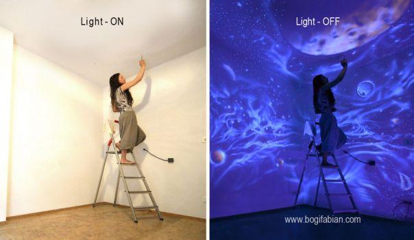 Glow-In-The-Dark Wall Murals