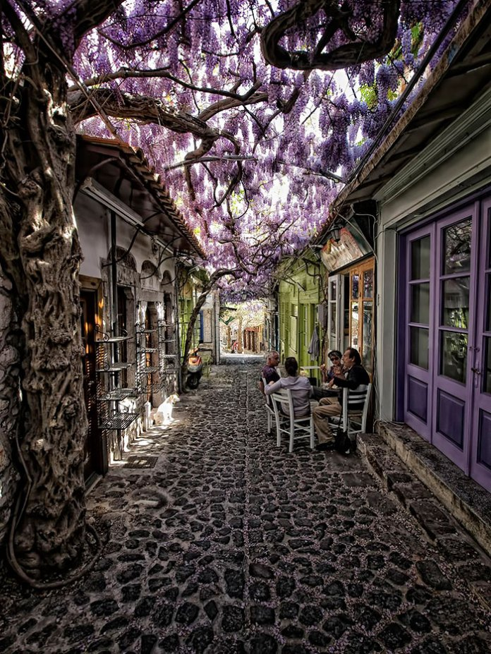 Molyvos, Lesvos, Greece