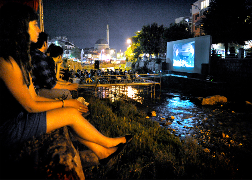 Riverbad Cinema For Dokufest In Prizren, Kosovo.