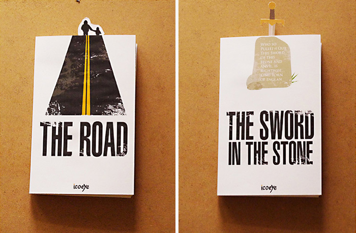 Bookmarks Which Interact With Book Covers