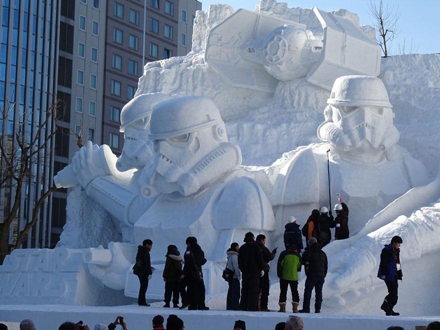 Sapporo Snow Festival (Japan)
