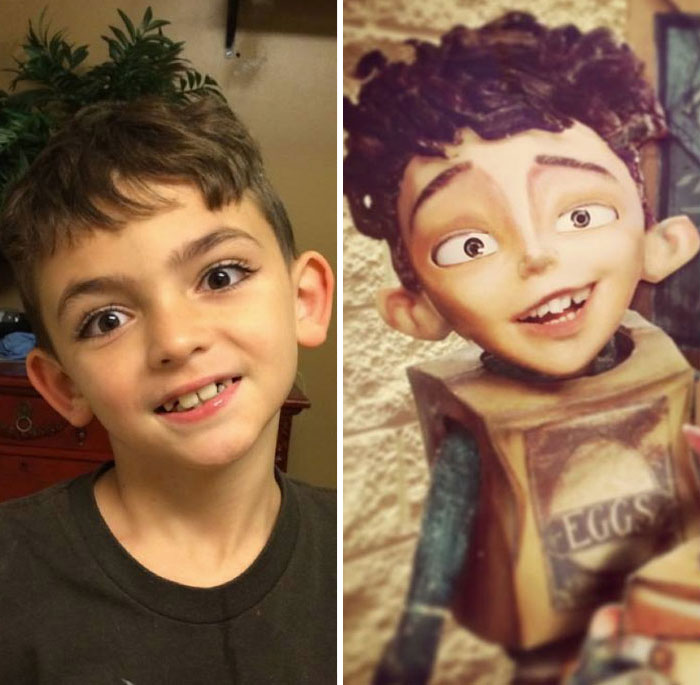 Cartoon LookAlikes Captured In Real Life Cindys On Interesting - People cartoon look alikes