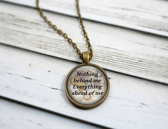 The Road Quote Necklace