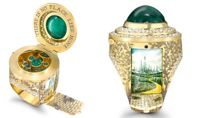 The Wonderful Wizard Of Oz Ring