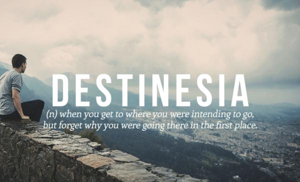 Destinesia