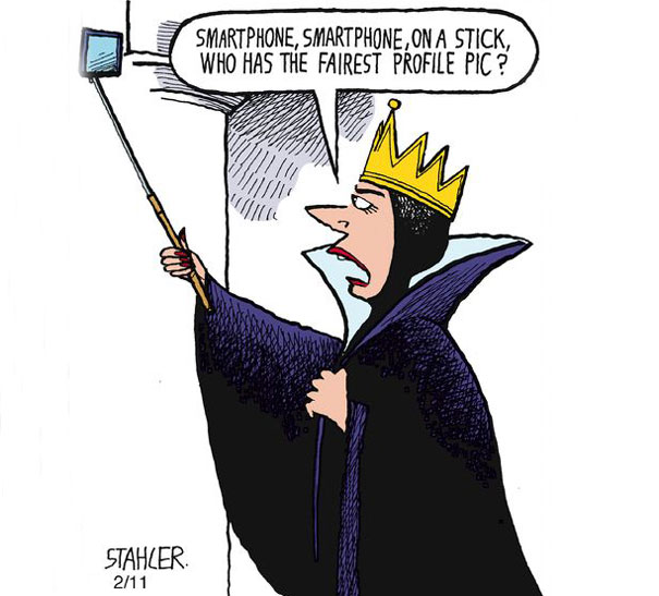10 Funny But Thought Provoking Images Of How Smartphones Have Taken Over Our Lives smartphone addiction illustrations cartoons 28  605