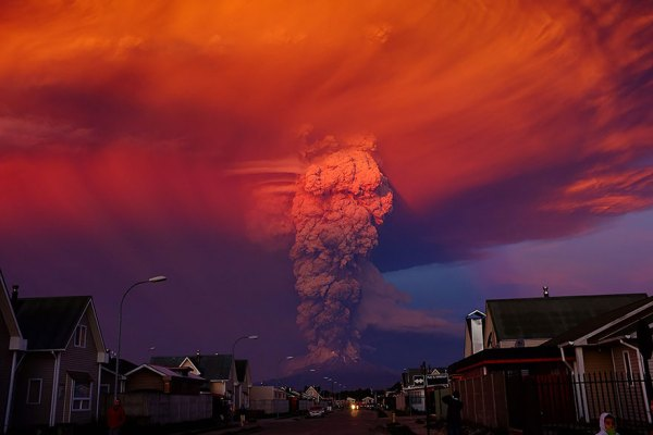 34 Breathtaking Pics Of Volcano Eruption In Chile That ...