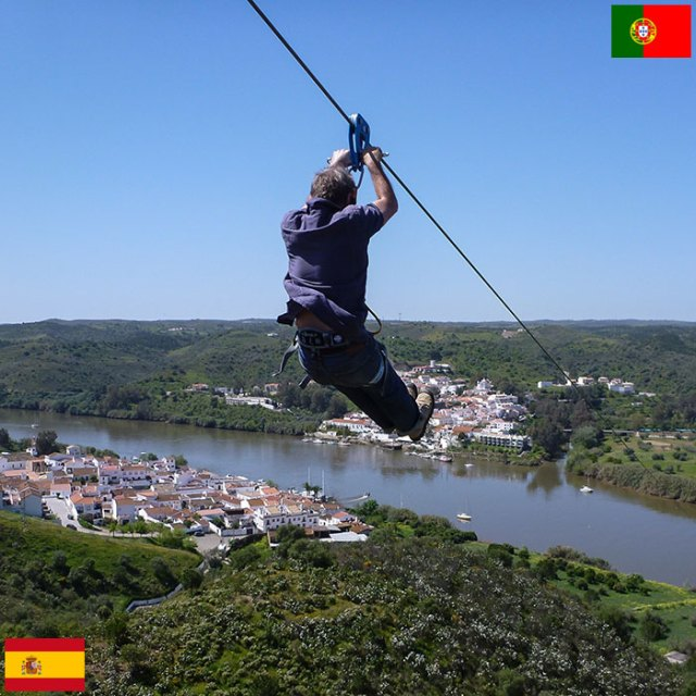 Zipline Connects Spain And Portugal