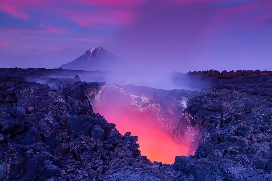 Window To Hell, Kamchatka, Russia