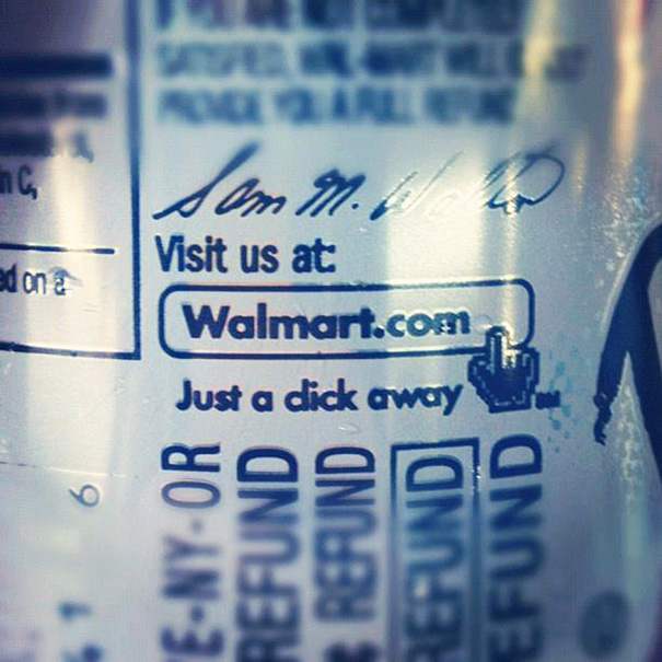 Hey Walmart... Kerning Is Important