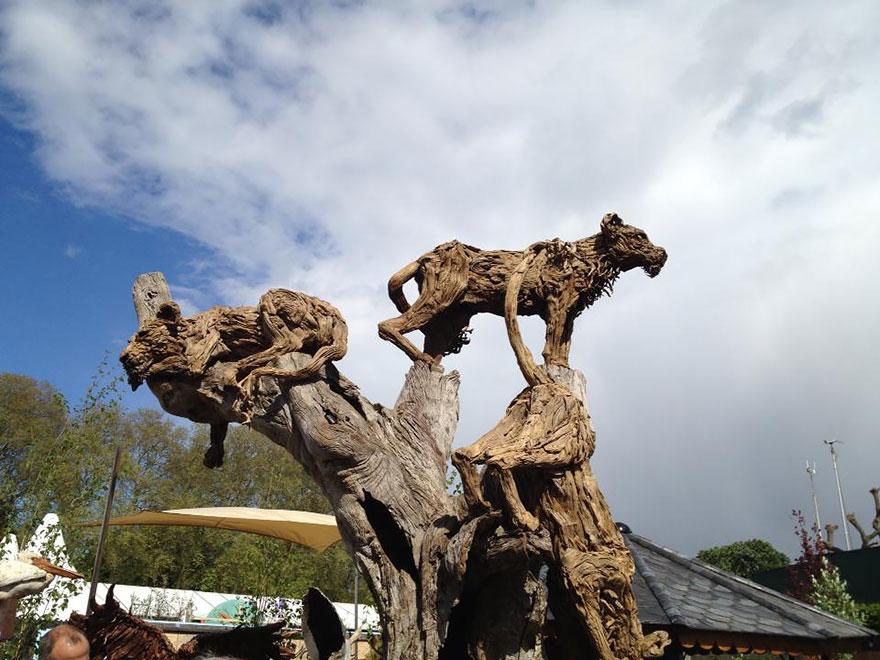 driftwood-animal-sculptures-jame-doran-webb-1