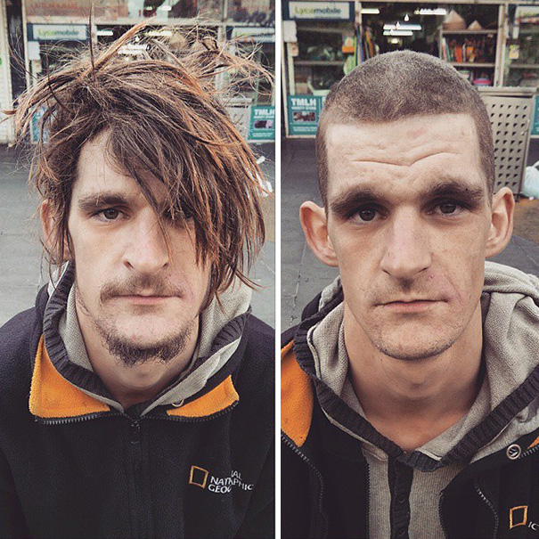 Badass Barber Gives Free Haircuts To Homeless While