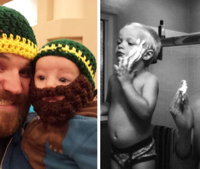 Like Father Like Son 111 Adorable Photos Of Dads And Their Mini Mes