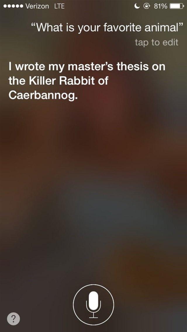 Siri Response