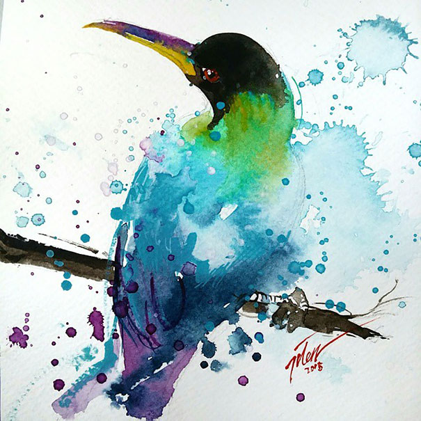 colorful-animal-watercolor-paintings-tilen-ti-2