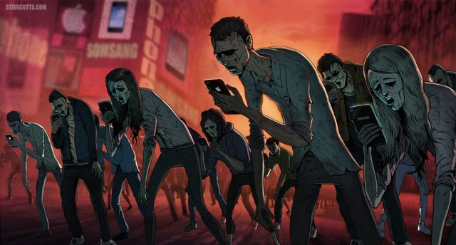 shocking modern world caricature
