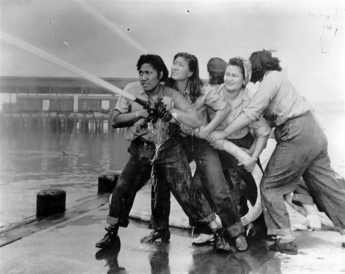 These Women Were Female Firefighters At Pearl Harbor (1941)