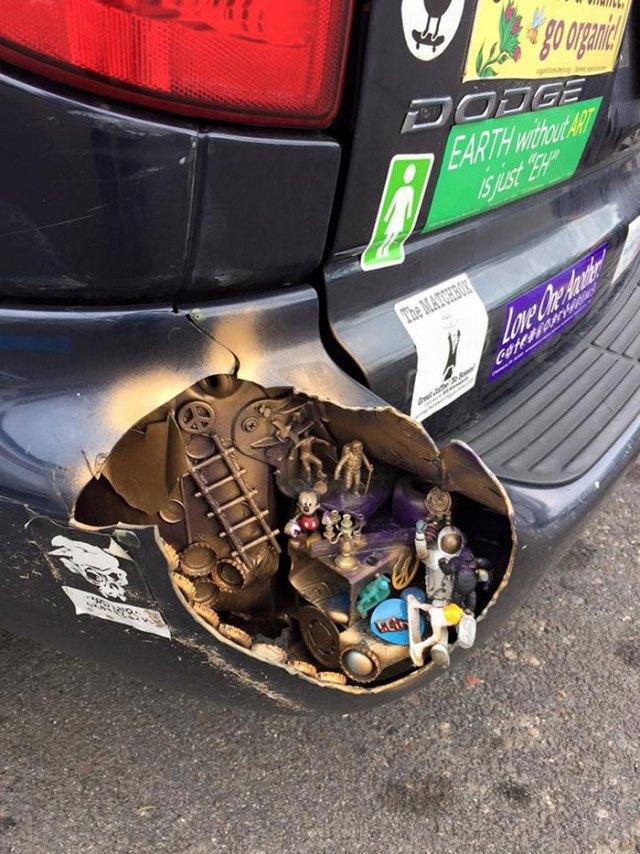 Creative Car Owner