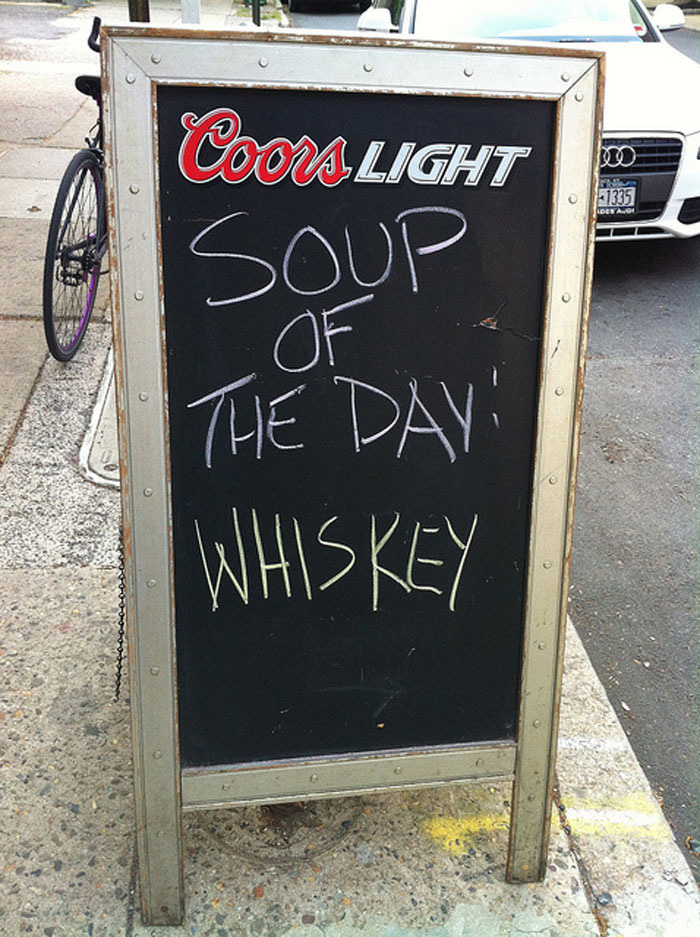15 Of The Funniest Bar Amp Cafe Chalkboard Signs Ever